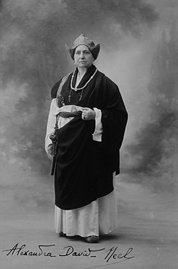 Alexandra David-Néel<br />v Tibetu v roce 1933