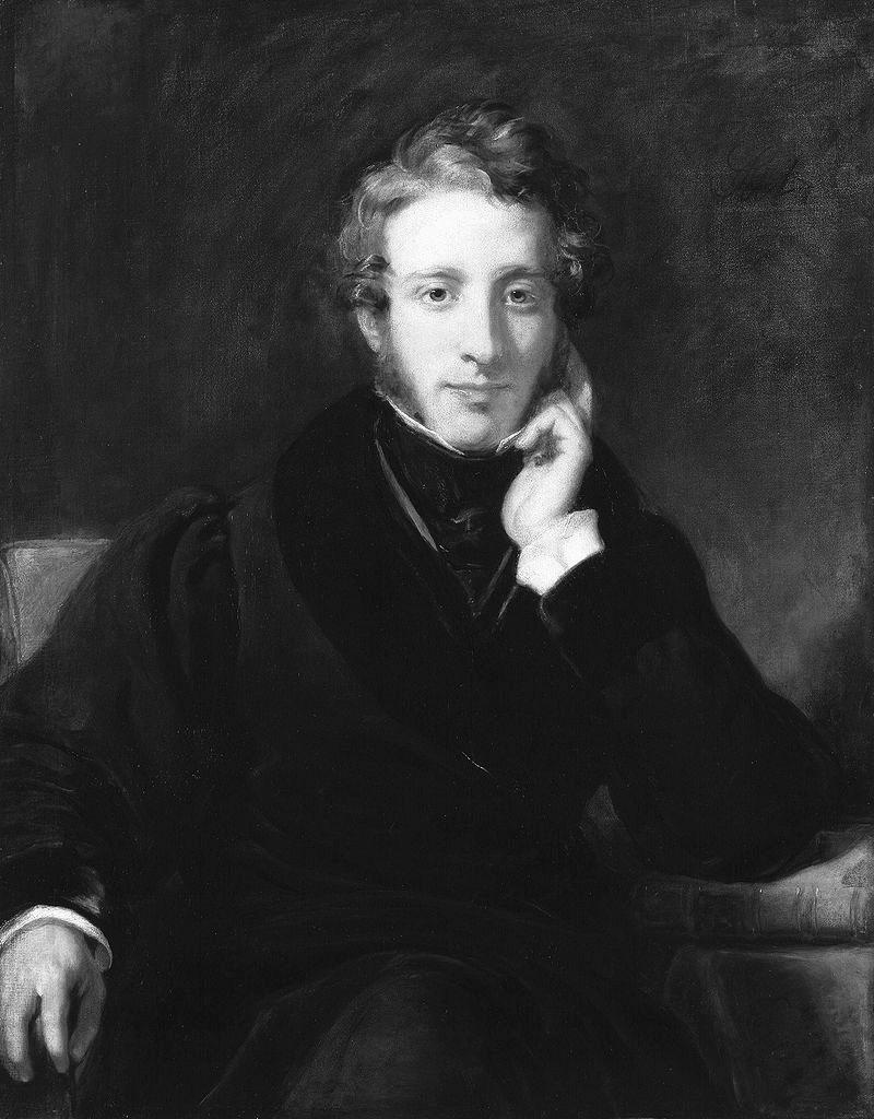 Edward Bulwer-Lytton v roce 1831