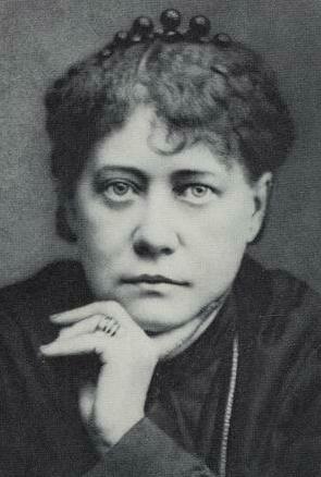 Helena Blavatská v roce 1877