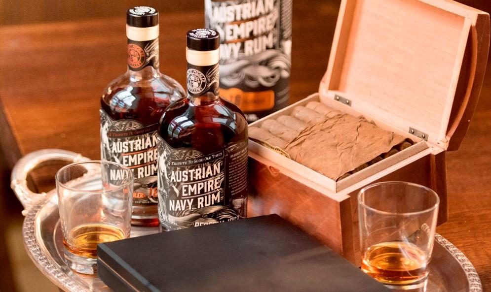 austrian empire rum, navy rum, albert michler