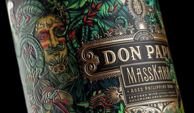 don papa rum, masskara, filipínský rum