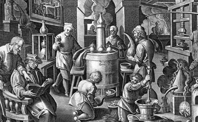 historie ginu, jalovcová pálenka, gin act